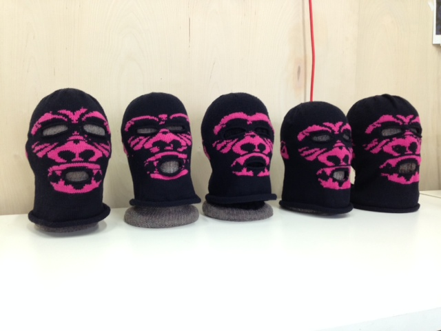 Diy Knit Guerilla Girls Broadband Balaclava From Microrevolt